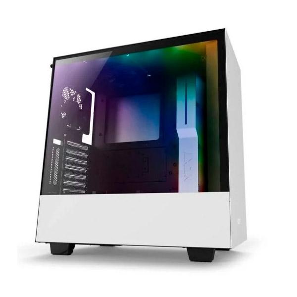 NZXT H500i con ventana blanca / negra - Caja