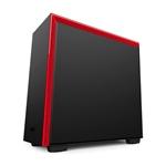 NZXT H700 con ventana negra / roja - Caja