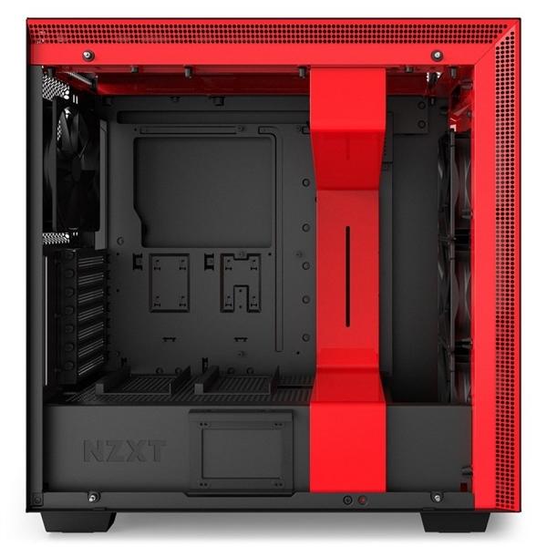 NZXT H700i con ventana negra / roja – Caja