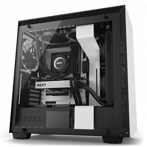 NZXT H700i con ventana mate blanca – Caja