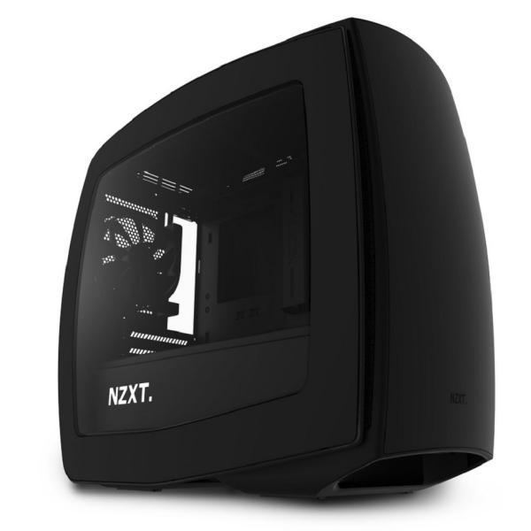 NZXT Manta negra con ventana – Caja