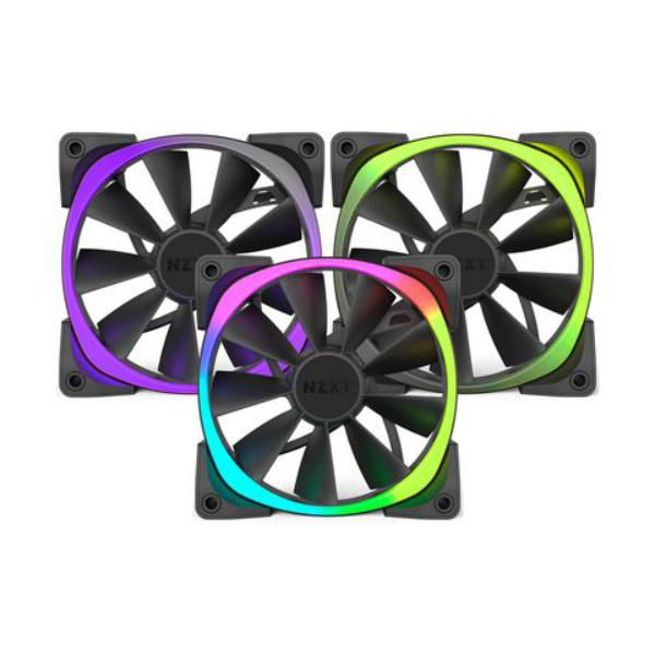 NZXT Aer RGB LED 140mm triple pack – Ventilador