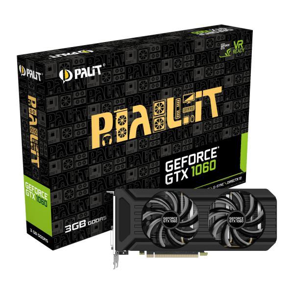Palit Nvidia GeForce GTX1060 Dual 3GB – Gráfica