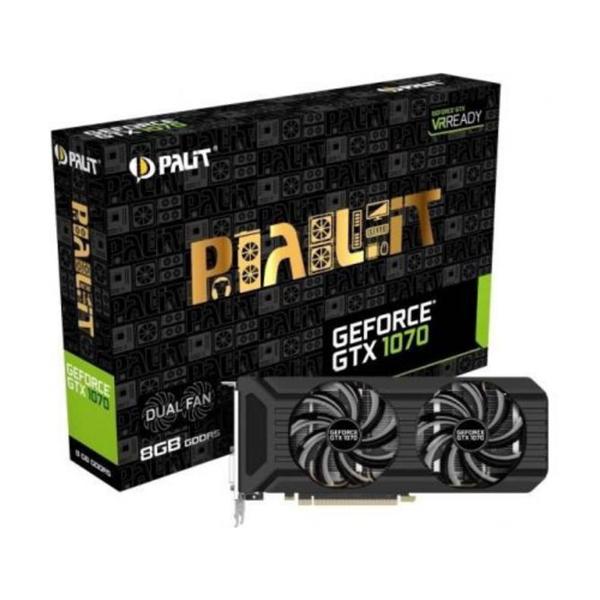 Palit Nvidia GeForce GTX1070 Dual 8GB – Gráfica