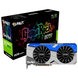 Palit Nvidia GeForce GTX1070 GameRock 8GB – Gráfica
