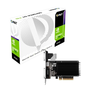 Palit Nvidia GeForce GT 710 2GB DDR3 Silent Low Profile -VGA