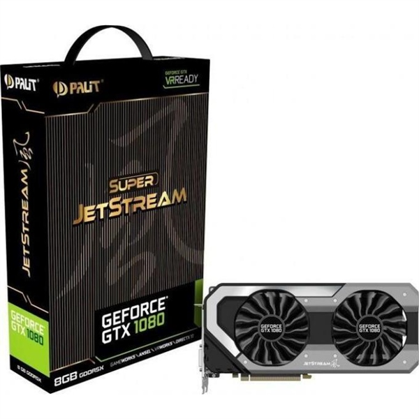 Palit Nvidia GeForce GTX1080 SUPER JETSTREAM 8GB – Gráfica