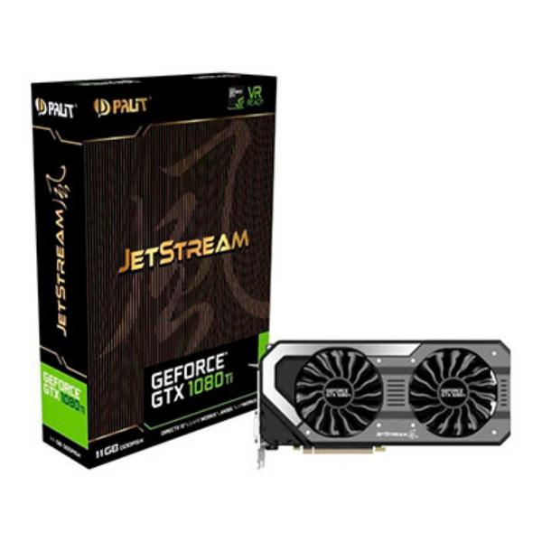 Palit Nvidia GeForce GTX1080 TI 11GB JetStream – Gráfica