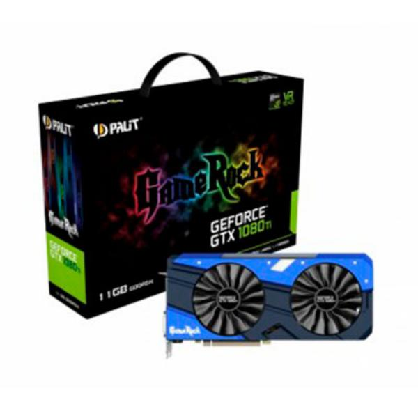Palit Nvidia GeForce GTX1080 TI 11GB GameRock – Gráfica