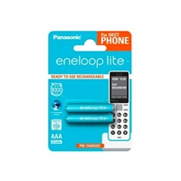 Panasonic Eneloop Lite DECT AAA 550mAh x2 - Pilas