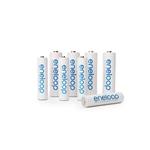 Panasonic Eneloop x4 AA 1900mAh + x4 AAA 750mAh - Pilas