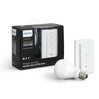 Philips Hue KIT 1x E27 A60 9.5W 2700K + Int – Iluminacion
