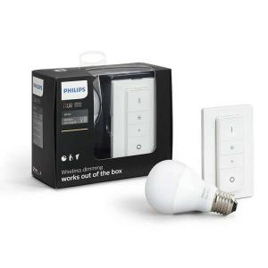 Philips Hue KIT 1x E27 A60 9.5W 2700K + Int – Iluminacion