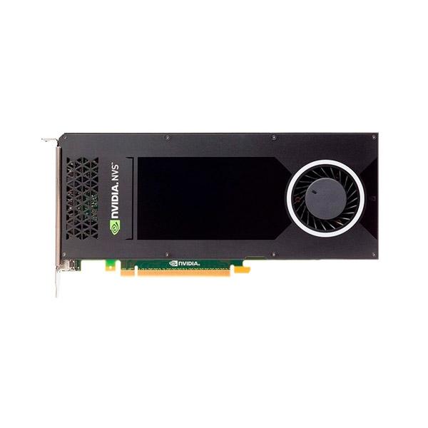 PNY NVS 810 4GB 2GPU 8xMonitores DVI - Tarjeta gráfica