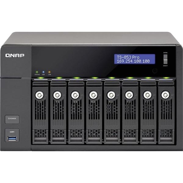 QNAP TS-853 Pro-8G – Servidor NAS