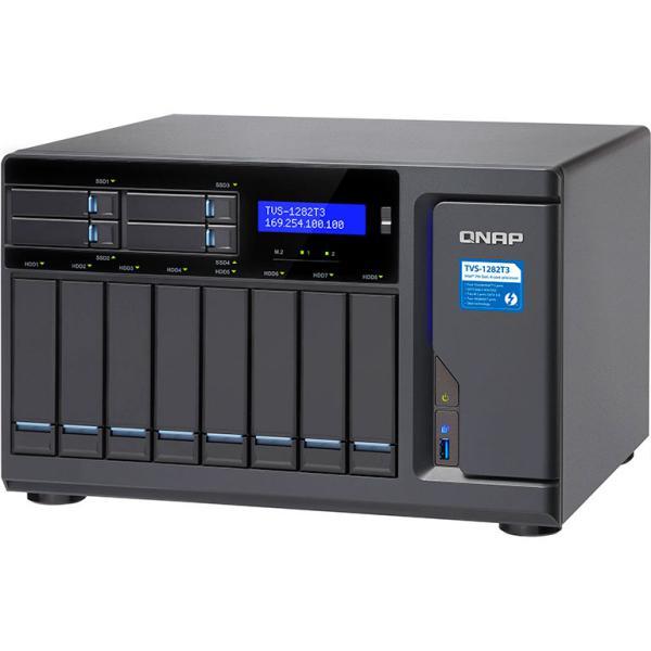 QNAP TVS-1282T3 i7 64GB Thunderbolt 3 – Servidor NAS