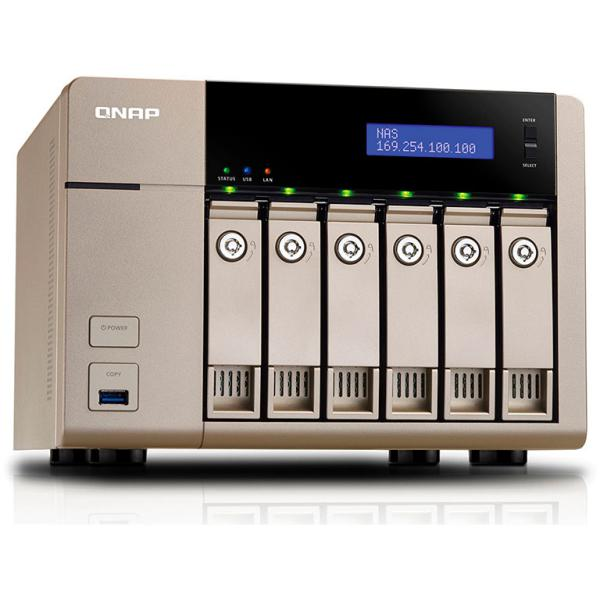 QNAP TVS-663 4GB – Servidor NAS