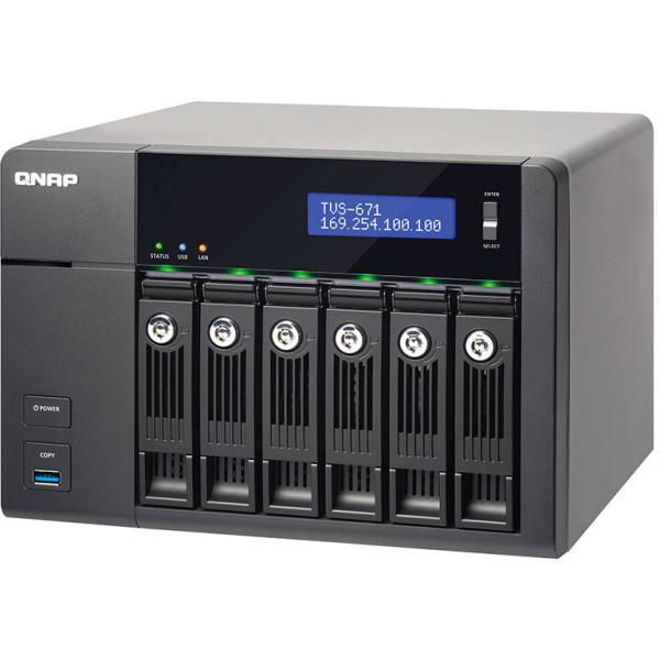 QNAP TVS-671 i3 4GB – Servidor NAS