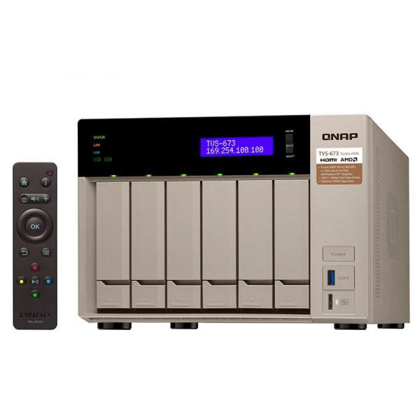 QNAP TVS-673 64GB – Servidor NAS