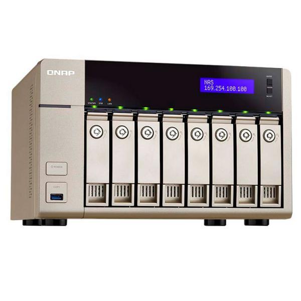 QNAP TVS-863 4GB – Servidor NAS