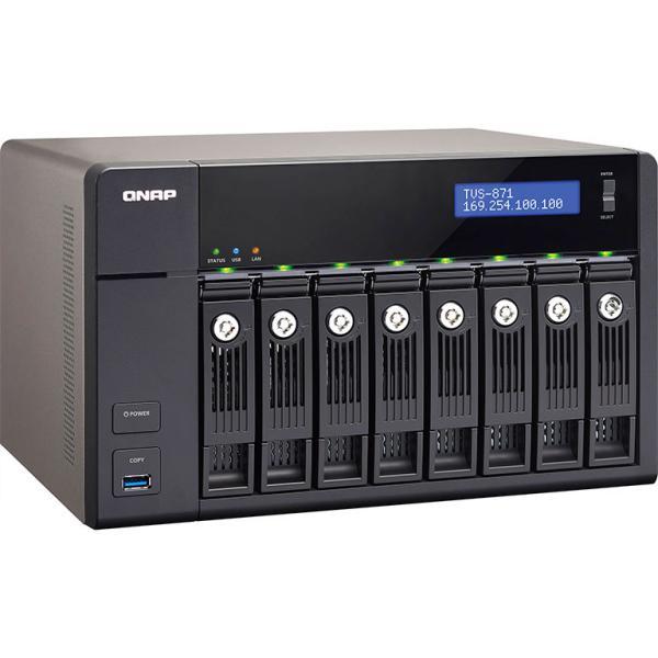 QNAP TVS-871 i3 4GB – Servidor NAS