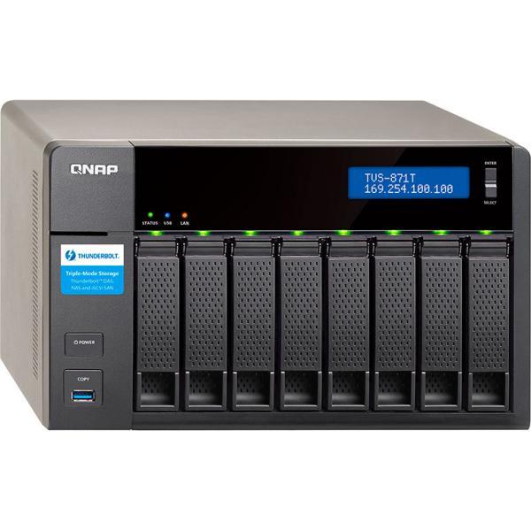 QNAP TVS-871T i5 16GB Thunderbolt 2 – Servidor NAS