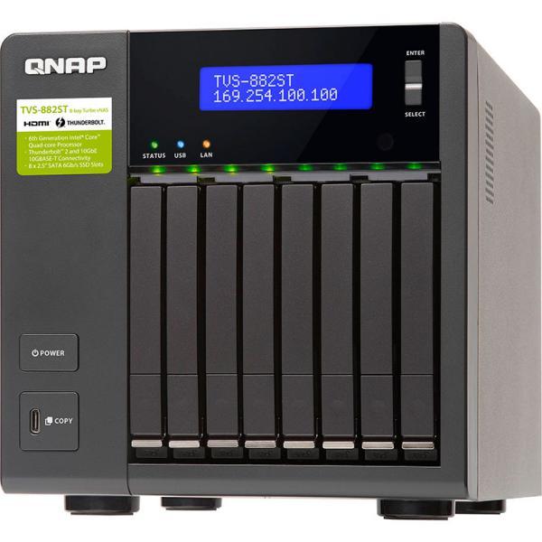 QNAP TVS-882ST2 i5 8GB Thunderbolt 2 – Servidor NAS