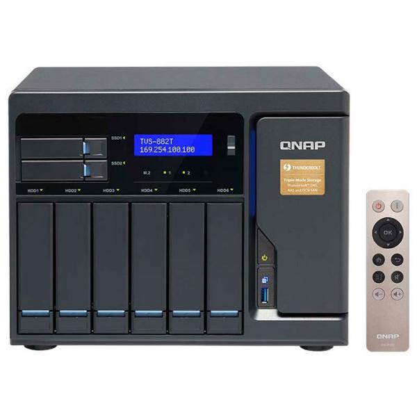 QNAP TVS-882T i5 16GB Thunderbolt 2 – Servidor NAS