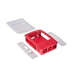 Caja RASPBERRY PI 3 B+ Blanca y Roja - Accesorio