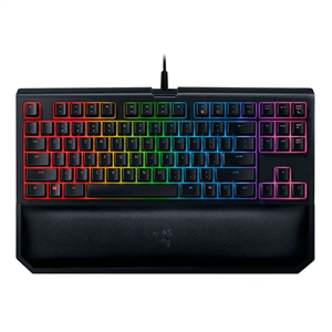 Razer BlackWidow tournament Chroma V2  sw yellow – Teclado