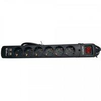 Riello 16 AH  6X SCHUKO + 2 USB ON / OFF –  Regleta