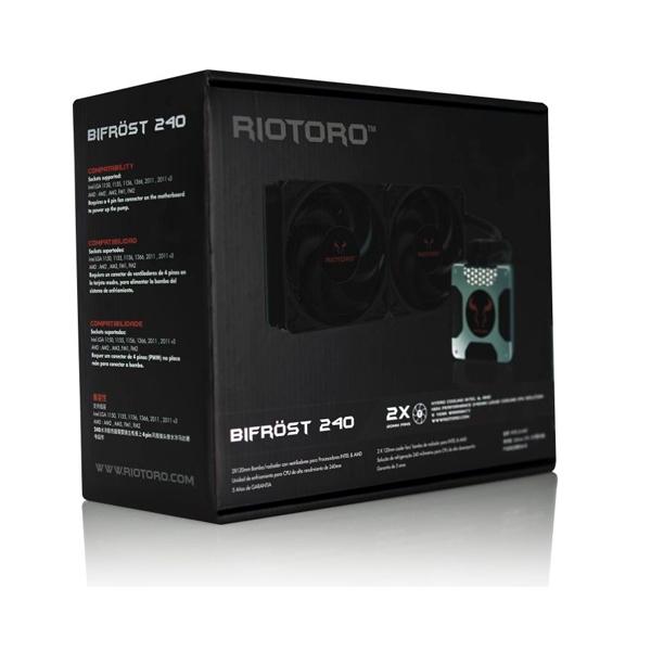 Riotoro Bifrost 240 - Refrigeración liquida