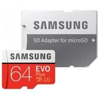 Samsung EVO PLUS 64GB MicroSD Clase 10 – Memoria Flash