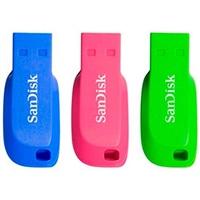 SanDisk Cruzer Blade 16GB pack de 3 – PenDrive