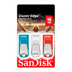 SanDisk Cruzer Edge 16GB pack de 3 – PenDrive
