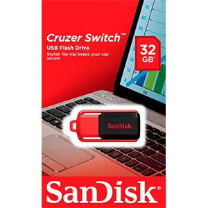 SanDisk Cruzer Switch 32GB – PenDrive