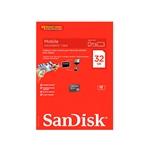 SanDisk - tarjeta de memoria flash - 32 GB - microSDHC