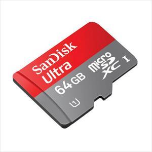 SanDisk Ultra Android 64GB 80MB/s c/adapt – Tarjeta microSD