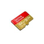 Sandisk Etreme MicroSD 64GB + adapt + Rescue Pro Deluxe