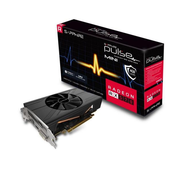 Sapphire Pulse Radeon RX 570 Mini 4GB – Gráfica