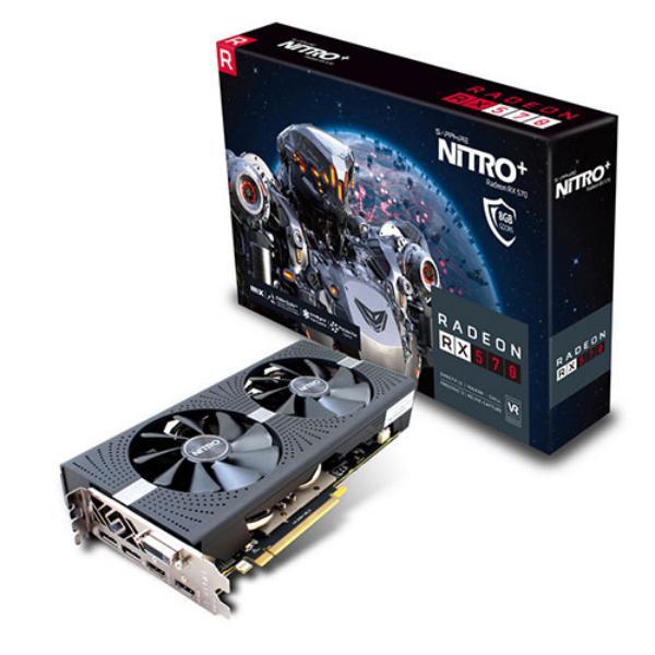 Sapphire Nitro+ Radeon RX 570 8GB – Gráfica