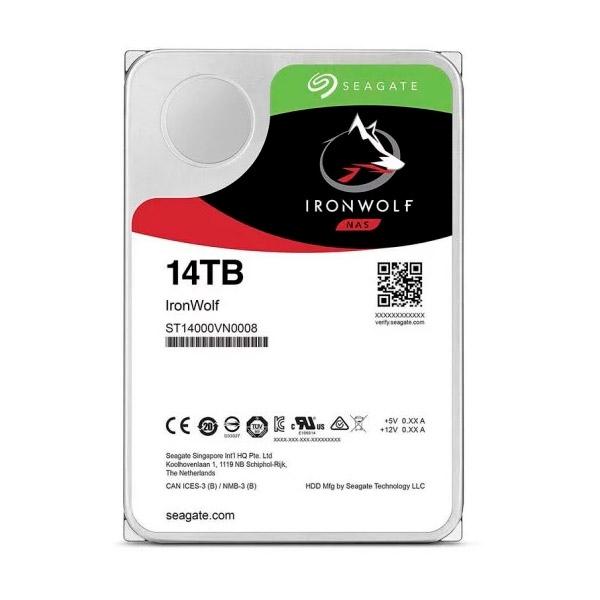 """Seagate IronWolf Pro 14TB 3.5"""" 7.2K SATA - Disco Duro"""