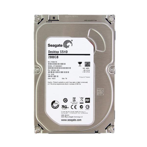 Seagate 3.5″ Híbrido 2TB + 8GB Flash 64MB – SSHD