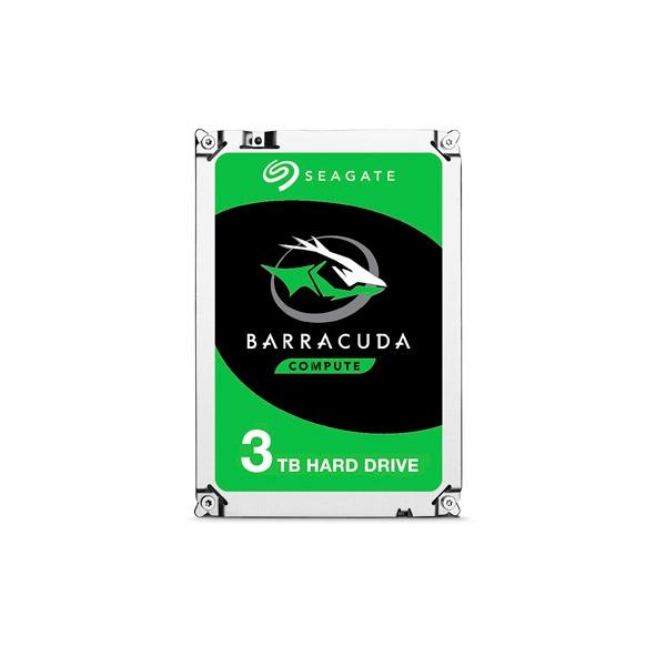 "Seagate Barracuda 3TB 3.5"" SATA - Disco Duro"