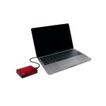 "Seagate Backup Plus Portable 5TB 2.5"" USB 3.0 Rojo - Externo"