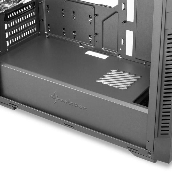 Sharkoon S1000 Negra M-ATX - Caja