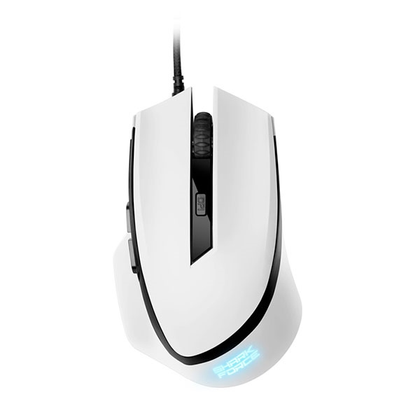 Sharkoon SHARK Force blanco USB 1600 DPI – Ratón