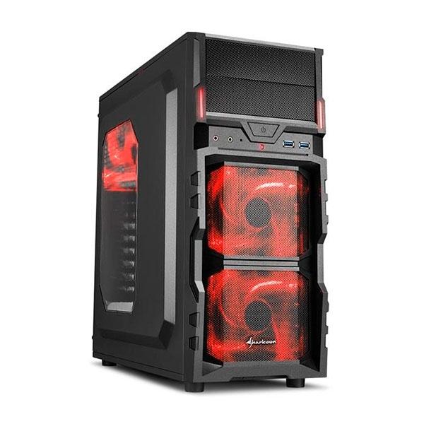 Sharkoon VG5-W negra roja- Caja