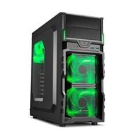 Sharkoon VG5-W negra verde - Caja