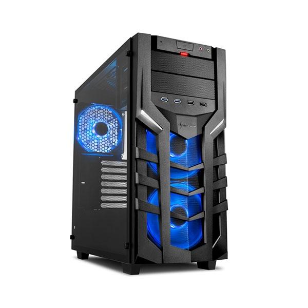 Sharkoon DG7000-G negra azul – Caja